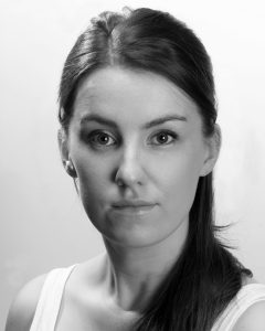 Clare Monelly plays Mary in the Nomad/Livin' Dred 2016 production of Tom Murphy's Bailegangaire