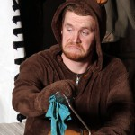 ian in bear costume